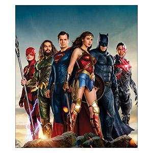 Justice League. Размер: 30 х 35 см